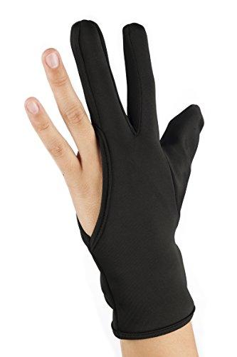 Eurostil Hitzeschutz Handschuh schütz vor Verbrennungen mit dem Lockenstab, Glätteisen,...