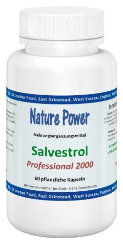Nature Power Salvestrol | Professional 2000 | 60 Kapseln | vegetarisch | glutenfrei -