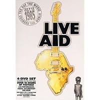 Live Aid - 13/07/1985 - Coffret Digipak 4 DVD