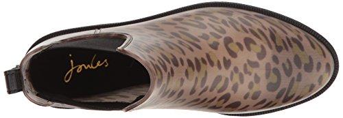 Joules Femmes Leopard Spot Rockingham Chelsea Bottes en Caoutchouc Leopard Spot