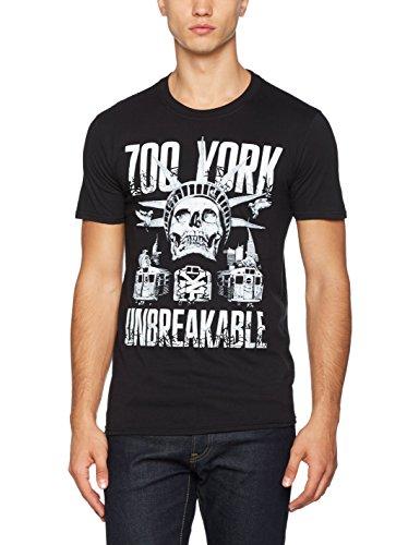 Zoo York Herren T-Shirt Cortland Schwarz