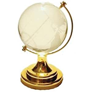 Feng shui Crystal Globe For success Small