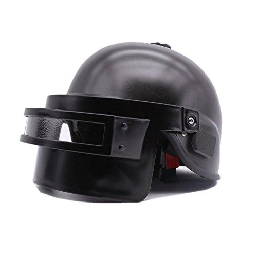 Preisvergleich Produktbild MTCTK Helm Level Code Spiel Battlefield Escape Spiel Surrounding Chicken Requisiten Vier Jahreszeiten Electric Motorcycle Schutzhelm Adult Half Helm Summer