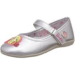 Barbie Girl's Silver Espadrille Flats - 7 kids UK/India (24 EU)