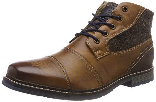 Bugatti Herren 321622523214 Klassische Stiefel, Braun (Cognac/Brown 6360), 45 EU