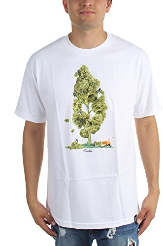 Primitive Herren-Baum-Service-T-Shirt White