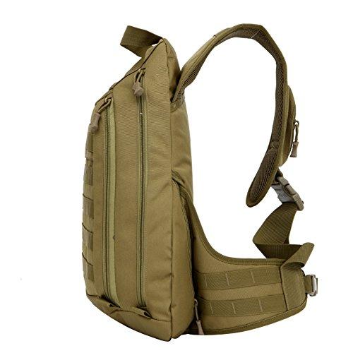 grande cassa/Petto di uomo casual Pack/All'aperto arrampicata borsa a tracolla-D E