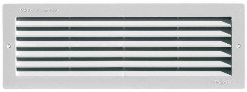 Griglia di Aerazione con Rete Antinsetti misura: 370x130 mm incasso: 336x96 mm