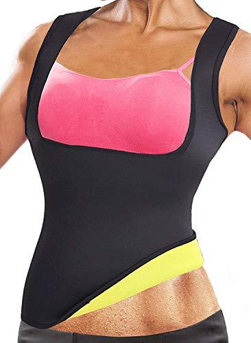 NOVECASA Chaleco Suana Mujer Neopreno Sweat Vest Sudoración