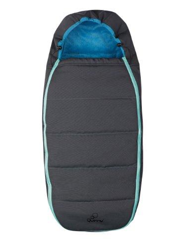 Quinny 60605540 - Fußsack für Quinny Buzz, Zapp und Zapp Xtra, Blue scratch