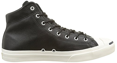 Converse Jp Jack Mid Leather, Chaussures de Gymnastique Mixte Adulte Black