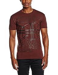 Antony Morato Girocollo Stampa Scretch Flag, T-Shirt Homme