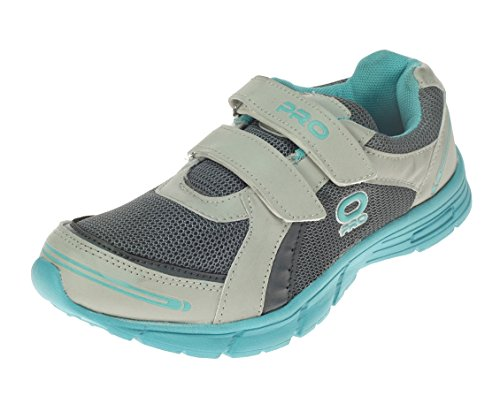 Pro (from Khadims) Womens Grey Synthetic/Mesh Sports Shoes - 5