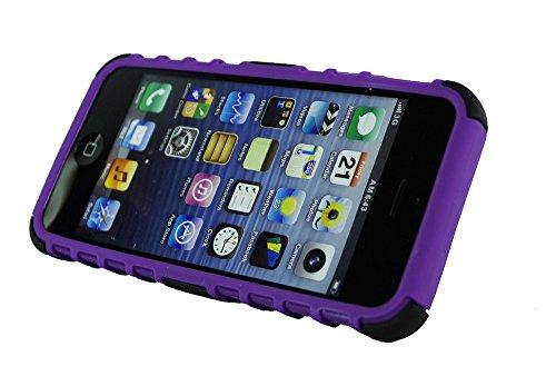 New Design Builder stoßfest Case Cover Hard Ständer für Apple i Phone 55G 5S blau