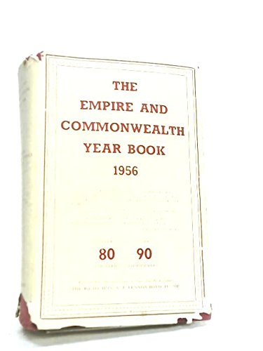 The Empire and Commonwealth Year Book 1956