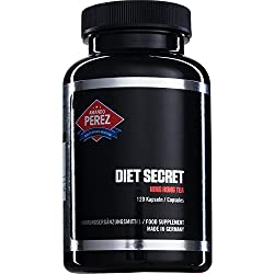 Diet Secret - Ning Hong Tee - Fatburner & Appetitzügler - 120 Kapseln