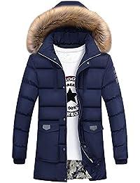 it Giacche Amazon Con Cappotti E Giubbotto Uomo Pelliccia dqrIrw