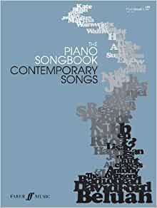 The piano songbook : contemporary songs |
