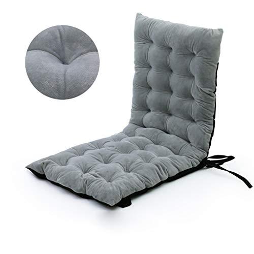 ZCXBHD Sonnenliege-Kissen Liegenauflagen Polster Chaiselongue-Kissen Schaukelstuhl Sitzkissen Sessel Für Liegen Im Innen- Oder Außenbereich Für Terassen Oder Den Garten (Color : Gray 100 * 40 * 8cm)