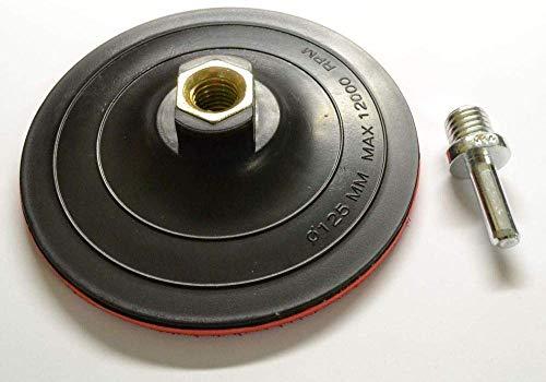 Falon Tech - Plato de Lija con Velcro M14