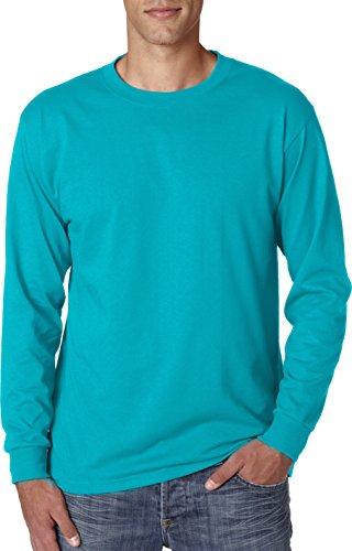 JerzeesHerren Langarmshirt Bleu - California Blue