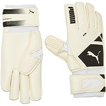 Puma Liga de portero guantes Elite GC, Unisex, color Blanco - blanco / negro, tamaño 7 (UE)