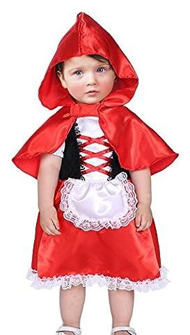 EOZY Baby Märchenkostüm Kinder Mädchen Halloween Kostüm Karneval Fasching Cosplay L Körpergröße (Bestes Halloween-kostüme Für Kleinkinder)