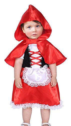 Kinder Vampir Mädchen Kostüm Kleinkind (EOZY Baby Märchenkostüm Kinder Mädchen Halloween Kostüm Karneval Fasching Cosplay L Körpergröße)