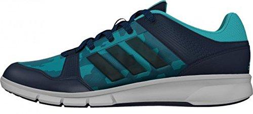 adidas Niraya, Chaussures de Running Entrainement Femme Bleu / Vert / Blanc (Azumin / Verimp / Blanco)