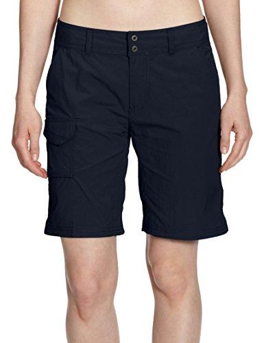 Columbia Hose Silver Ridge Damen Shorts, Abyss,Gr. 42 EU (Innensaumlänge: 23cm/12) (Ripstop-shorts Damen)