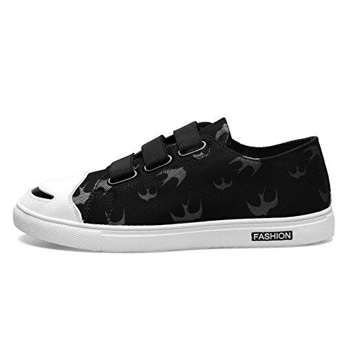 sport casual scarpe per l'autunno le scarpe sportive dei giovani studenti di tela tela scarpe black and white