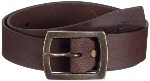 Wrangler - Cintura, uomo, Marrone (Braun (Brown)), 115 cm