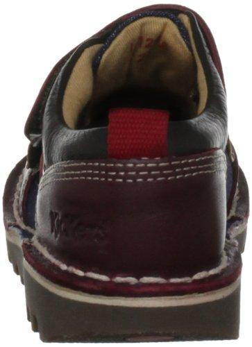 Kickers  Kick Racer Lthr Im, Casual Shoes garçon Rouge - rouge foncé