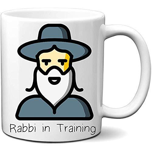 Rabino entrenamiento Taza café leche 11 onzas Gran