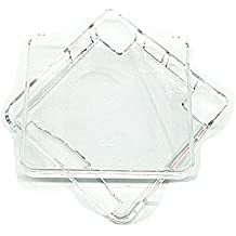 Meijunter Hard Protective Shell Crystal Case Cover Cage fuerte funda cáscara caja para Nintendo Gameboy Advance SP GBA SP Color Transparent