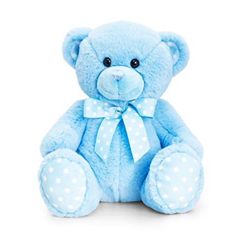 Supersoft 35cm Baby Spotty Bear Blue