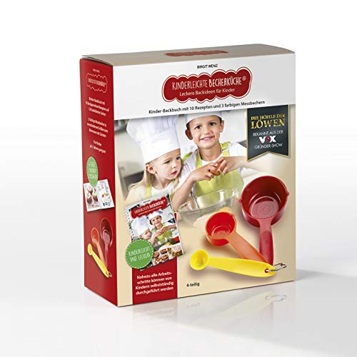 Kinderleichte Becherküche 03636 - Leckere Backideen für Kinder - Band 2 - Backset inkl. 3-farbige Messbecher