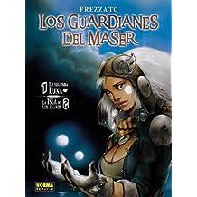 LOS GUARDIANES DEL MASER VOL 1: 1. LA SEGUNDA LUNA / 2. LA ISLA DE LOS ENANOS (CÓMIC EUROPEO)
