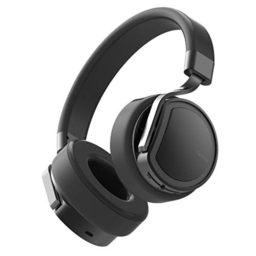 Drahtloses Bluetooth-Headset Kopfmontierter MP3-Player mit Selbstspeicher Kabelgebundenes wasserdichtes Sport-Lauf-Headset(Schwarz)