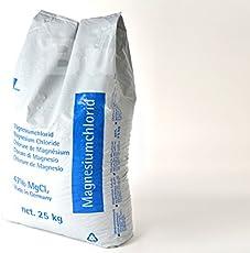 Auftaugranulat Magnesiumchlorid 25 Kg (0,59 Euro per Kg)