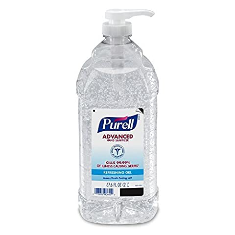PURELL Advanced Instant Hand Sanitizer - 2L Pump Bottle, Original - 1 Bottle by Purell