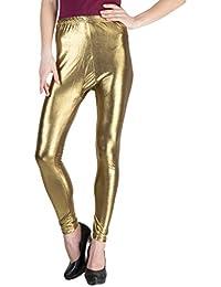 Castle Women's Leggings (BDB40705_Dark Golden_Free Size)