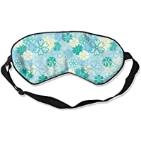 Green And White Flowers Sleep Eyes Masks - Comfortable Sleeping Mask Eye Cover For Travelling Night Noon Nap Mediation... preisvergleich bei billige-tabletten.eu