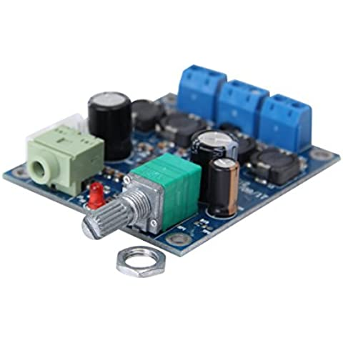 LANMU Mini Audio 25W + 25W TPA3118 digitale 12V Power Amplifier Module Circuito PCB Board