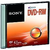 Sony DMW47SS - DVD-RW regrabable con capacidad de hasta 4,7 GB