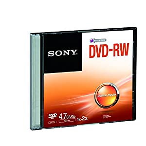 Sony DMW47SS DVD-RW Rewritable with Capacity of up to 4.7 GB