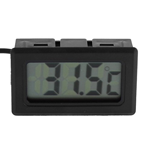 Plastic Shell -50 bis 70 Grad Celsius LCD-Anzeigen-Digital-Thermometer - Celsius Shell