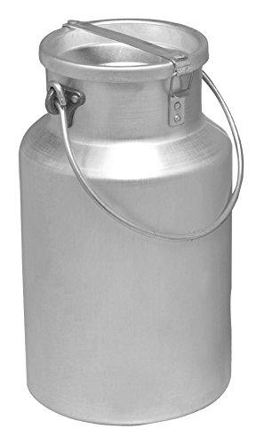 Pardini Pardini Bidone per Olio e Latte, Alluminio, Grigio, 10x10x20 cm