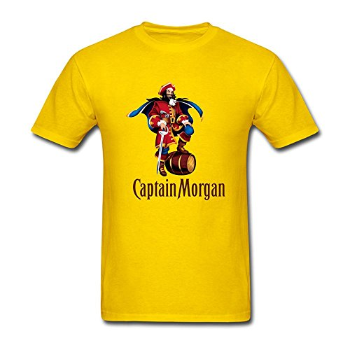mens-captain-morgan-short-sleeve-t-shirt-yellow-x-large