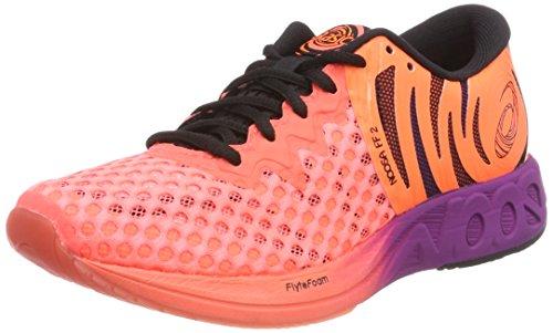Asics Noosa Ff 2, Zapatillas de Entrenamiento para Mujer, Naranja (Flash Coral/Black/Shocking Orange 0690), 36 EU